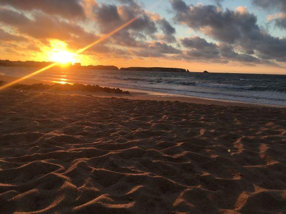 Peniche at dawn