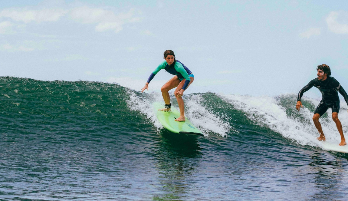 Beginner Surf playa Hermosa