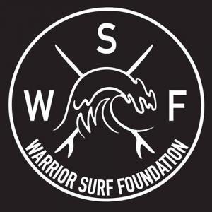 The Warrior Surf Foundation Logo