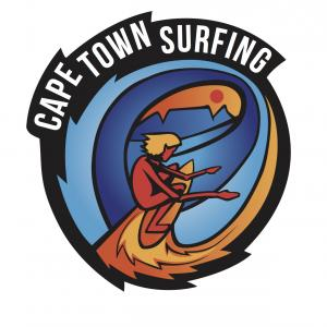The CAPE TOWN SURFING logo