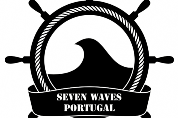 7 Waves Surf Camp logo