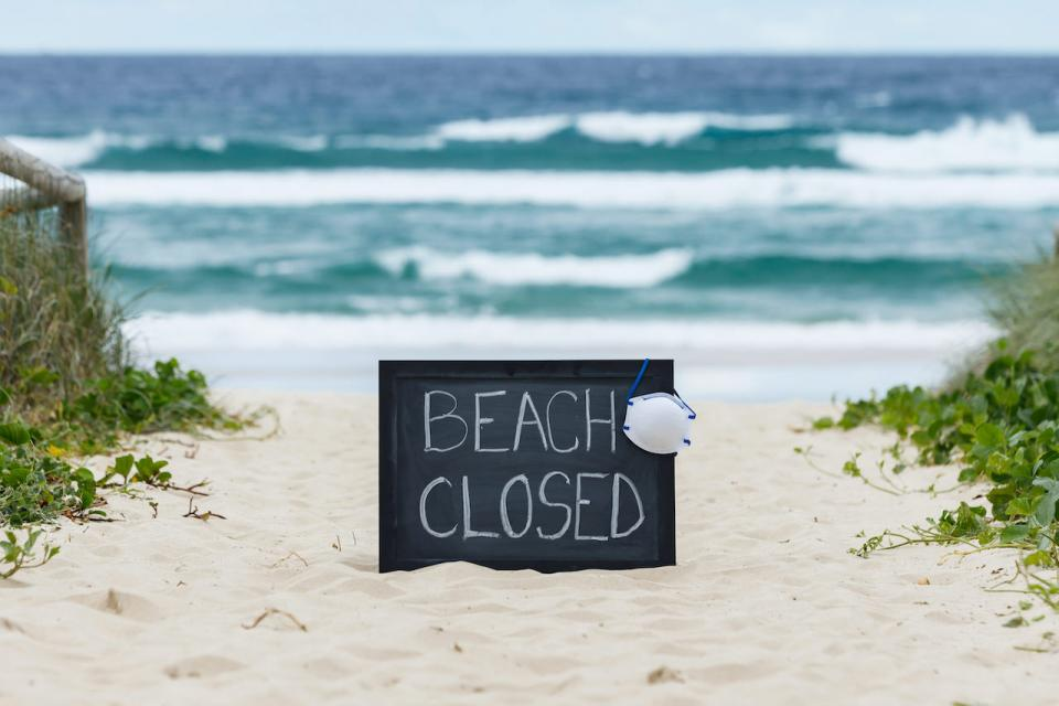 Beaches are closed in J-Bay die to COVID-19