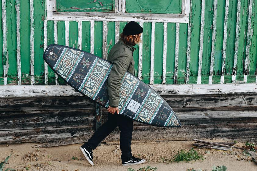 Win a custom THE COLLECTIVE Surfboard