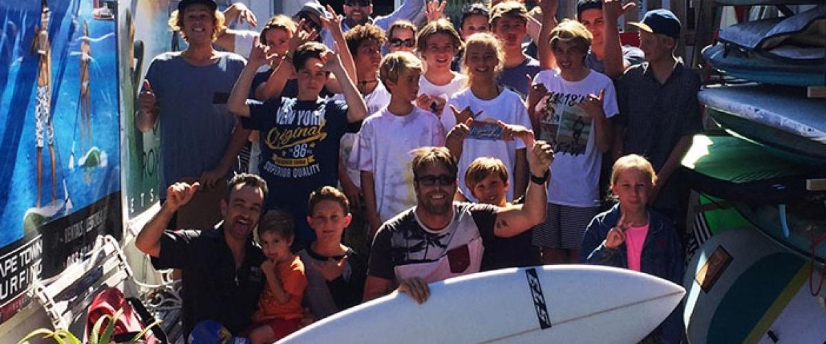 WIN a free custom ELS surfboard with CAPE TOWN SURFING