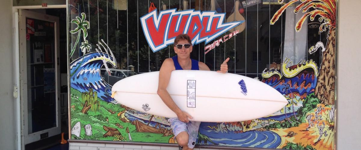 WIN a VUDU SURF custom surfboard at SURF REVIEWS