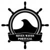 7 Waves Surf Camp logo