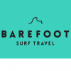 The BAREFOOT SURF TRAVEL logo
